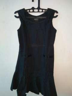 BLACK MINI DRESS H&M #JAN25