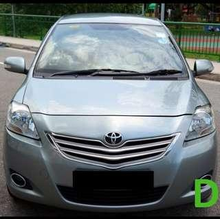 Low Excess Toyota Vios for GoJek
