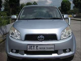 Toyota Rush 1.5 X Auto