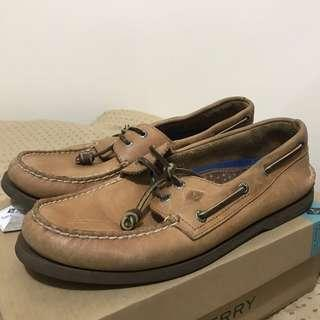 ORIGINAL Boat Shoes Sperry warna Sahara Brown