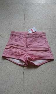 H&M Strip shorts
