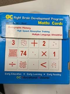Maths cards