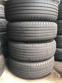 215/60/17 Dunlop EC300 used tyre