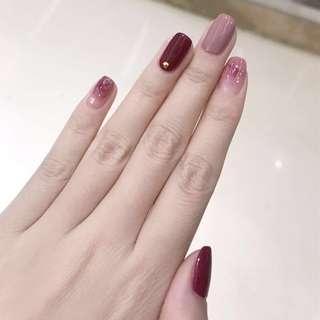 Manicure gel nails 💅🏼