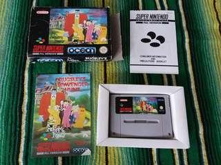 1992 Super Nintendo Video Game The Adams Family Pugsleys Scavenger Hunt