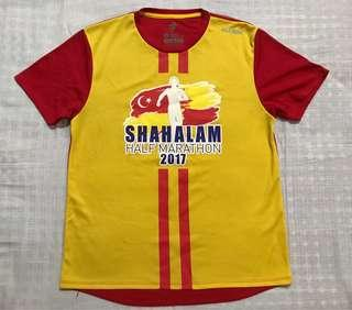 Running T-Shirt - Shah Alam Half Marathon 2017