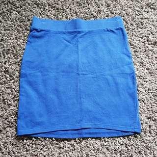 Cache Cache blue bandage Skirt