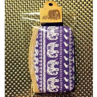 【泰國帶回】大象零錢包/鑰匙包/錢包/化妝包/手拿包/集線包/圖騰/民俗風/幾何/泰國代購