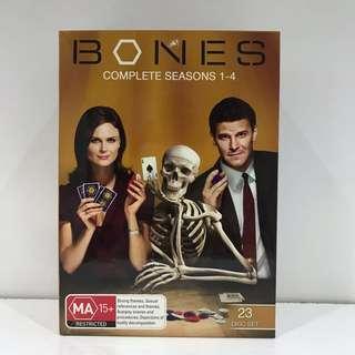 Bones Complete Seasons 1-4