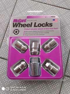 McGard Wheel Locks M12 x 1.25