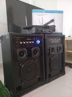 Sound system (rental) karaoke
