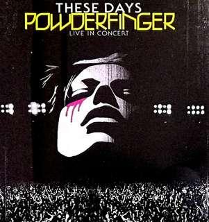 arthcd POWERFINGER These Days - Live In Concert 2CD