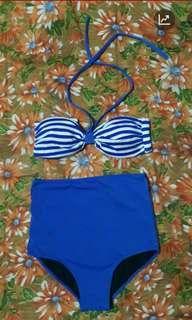 Highwaist two piece swimwear