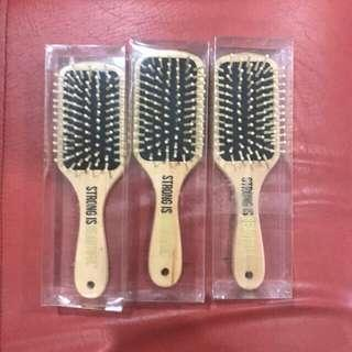Strong is beautiful hairbrush