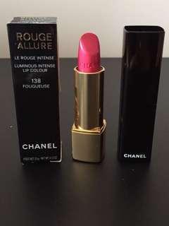 Chanel Rouge Allure Luminous Intense Lip color #138 (包郵)