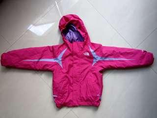 North Face kids triclimate jacket