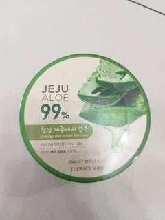 The face shop aloe gel