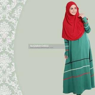 Jubah Nusaibah Dress sucibyyatthamzah plus size