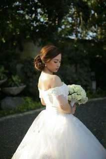 FOR RENT: RTW Wedding Gown