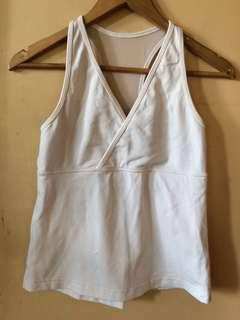 Under Armour White Tank Top