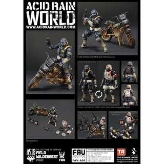 Pre-Order for Acid Rain - Field Wildebeest WB3f