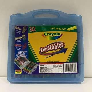 Crayola Twistables In Carry Case