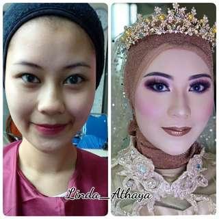 Jasa makeup wedding, pengantin, wisuda, bridesmaids