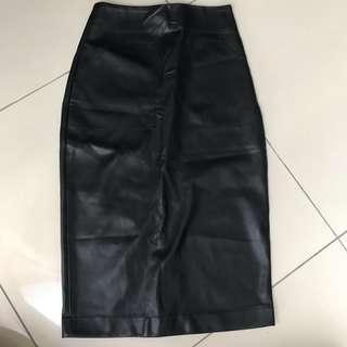 ASOS Faux leather Pencil Skirt