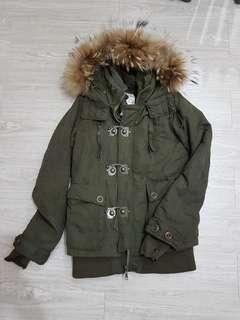 🚚 SLY 軍衣外套 軍綠色大衣-2號