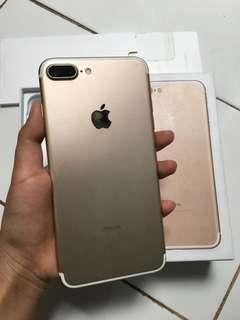 Iphone 7 Plus Gold Fullset