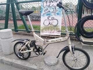"""16"""" PALACE Folding Bike 16吋 6速 後避震"""