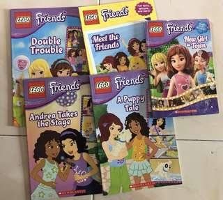 USED: Lego Friends (all 5 books)