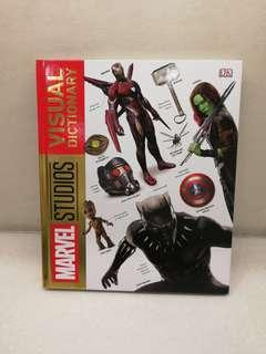 Marvel Studios Visual Dictionary Anvergers Captain America not Hottoy