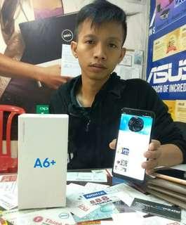 Samsung Galaxy A6+ (3/64), Bisa Kredit tanpa CC 3menit aja