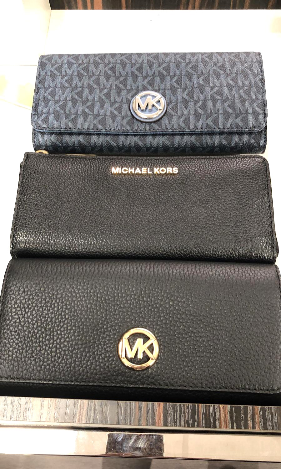 74d25c6f6b1a 163 ONLY. Michael Kors Long Wallet JUST ARRIVED!, Luxury, Bags ...