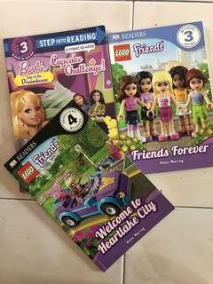 Used: Lego Friends Step into reading (all 3 books)