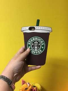 (SALE) Rubber Case Iphone 6 / 6s Starbucks
