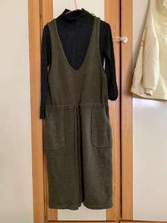 🚚 毛衣裙抹茶绿羊毛裙