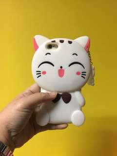 (SALE) Rubber Case Cat / Kucing Iphone 6 / 6s