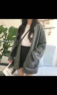 🚚 韓版寬口針織外套