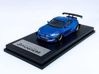 Ignition Model 1/64 Pandem Toyota 86 V3 - Blue Metallic