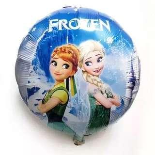 Frozen party supplies - Frozen balloons / party deco