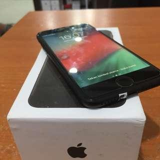 Iphone 7 32gb Blackmatte Fullset Muluz Bisa Tt