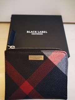 Burberry Black Label leather coin case / cardholder