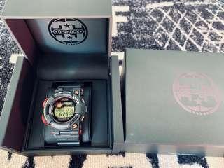 Japan JDM Casio G-Shock Magma Ocean Series 35th Anniversary Limited Edition GWF1035 Frogman Watch