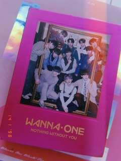 (WTS) Wanna One Nothing Without You Album (Wine)