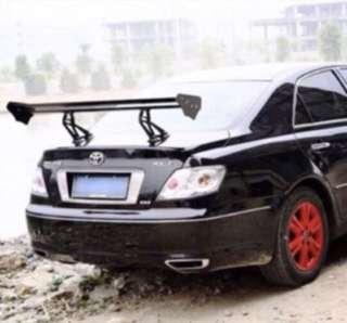 <CNY Sales> Clip or Drill Spoiler - Hatchback / Sedan/ MPV / SUV all welcome