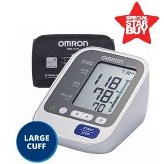 🚚 Large Cuff! Omron Automatic Blood Pressure Monitor - HEM 7130L - 60 Memories with Date and Time - Brand New!