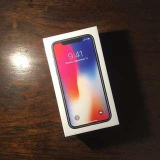 iPhone X 64 GB Factory Unlocked Space Gray