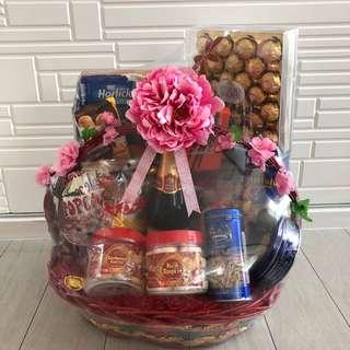 CNY Hamper Wrapping